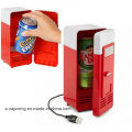 USB Elektrizität Angetriebener Mini-Kühlschrank Aufrecht Einfrieren mit LED