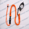 Shock Diserap Alat Lanyard dengan Self-Locking Carabiner