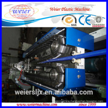 16-63mm single wall plastic corrugated pipe extrusion line