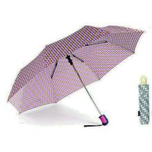 Parapluies automatiques coupe-vent colorés de DOT 3 (YS-3FA22083962R)