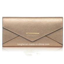 Popular Long Wallet Stylish Simple Women Purses (ZX10151)