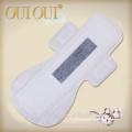 Meilleure vente respirant anion bambou charbon de bois serviettes hygiéniques