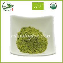 Polvo puro del té verde del Matcha del 100% (estándar orgánico de la UE)