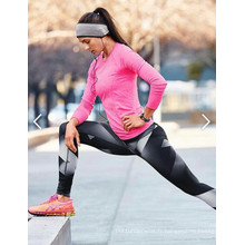 Sports sur mesure Pantalons serrés Fitness Pantalons de yoga Leggings