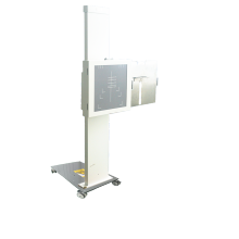 Mobile vertical bucky stand can be placed 17*17 size flat panel detector or film or cassette bucky stand can be placed with grid