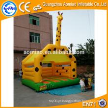 Vivid design outdoor bouncer animal inflável inflável casa bounce bouncy
