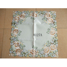 Polyester Table Clothes Handmade Cutwork 8217A