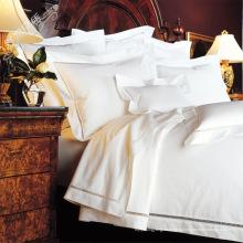 100% хлопок или T / C 50/50 Отель вышивки / домашний комплект постельных принадлежностей (WS-2016069)