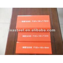 Q235 B 100X100 quadratisches Stahlrohr / Rohr