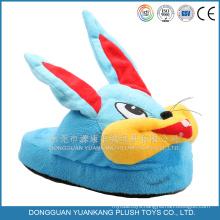 Wholesale Custom Plush Bulk Animal Slippers
