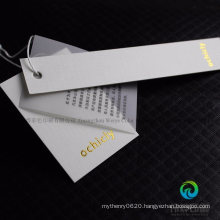 Custom High Quality Offset Paper Printing Promotional Hang Tag