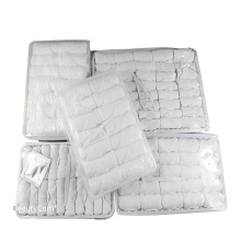 Best sales disposable towels with plastic tong with different size