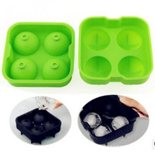 2016 Summer Promotion Gifts Silicone Ice Cube Ball Trays