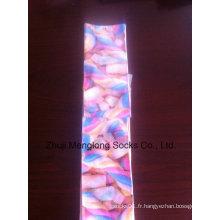 Sublimation complet Double femme imprimé coton chaussettes