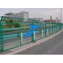 Clôture de sécurité en treillis métallique soudé PVC