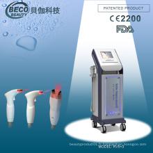 Machine rouge de salon de beauté d'équipement de rf de vide (RV5 + 3)
