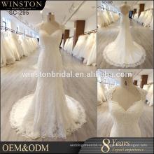 Новое Прибытие реальную картину латекс свадебные платье в Гуанчжоу