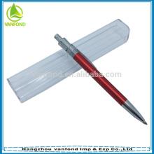 Hot selling promotional metal ballpen/aluminium pen with logo