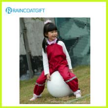 PU Imperméable PU Rainsuit Kid Rainsuit Kid Raincoat Enfant Raincoat
