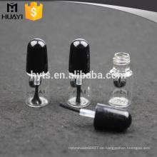 3ml klare maßgeschneiderte leere Nagellack Flasche mit Pinsel