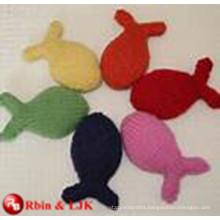 OEM soft ICTI plush toy factory handmade cute cat plush toy