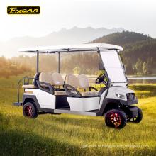 Troie batterie 6 places chariot de golf électrique Italie essieu golf buggy voiture à vendre
