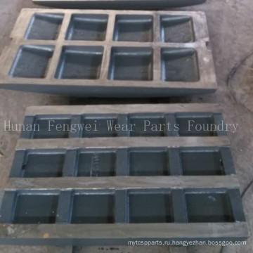 Детали горного оборудования Производитель пластин щековой дробилки Литейный цех