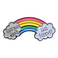 Rainbow Bridge Cloud zacht email embleem