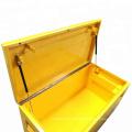 Caixa de ferramentas de caminhão de trabalho Heavyworks de aço à prova d'água Caixa de ferramentas de caminhão de trabalho pesado de aço Heavy Duty
