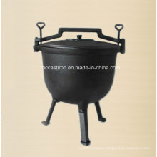 Cast Iron Dutch Oven/Cauldron with Three Legs