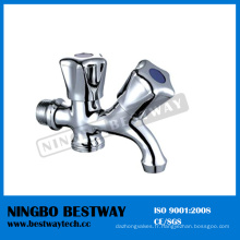 Robinet d'eau bouillante à double poignée de haute qualité (BW-T19)