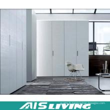 Placard multifonctionnel moderne de garde-robe de laque blanche (AIS-W356)