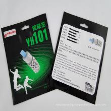 Customized Logo Design Laminated Three-Side-Sealing Aluminum Foil Bags Manufacture