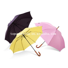 Parapluie droit 23inch * 8ribs avec poignée en bois