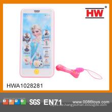 Elektrisches Plastik-englisches Touch Screen Telefon-Spielzeug mit Musik (Batterie nicht eingeschlossen)