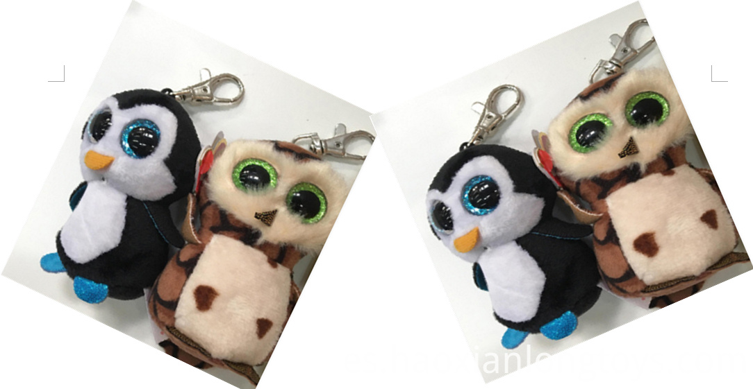 Lovely Owl Key Ring