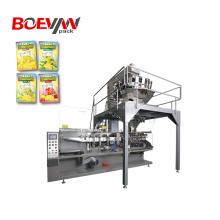 Máquina de embalagem de grânulos com vedação horizontal de 4 lados