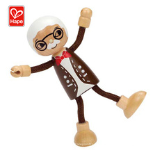 Hot new products fashion doll house toys,modern family-grandpa