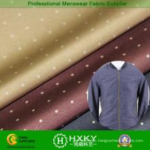 Polka DOT Printed Poly Fabric for Men′s Jacket