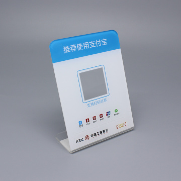 Anpassad Akryl Tablet Display Display-stativ
