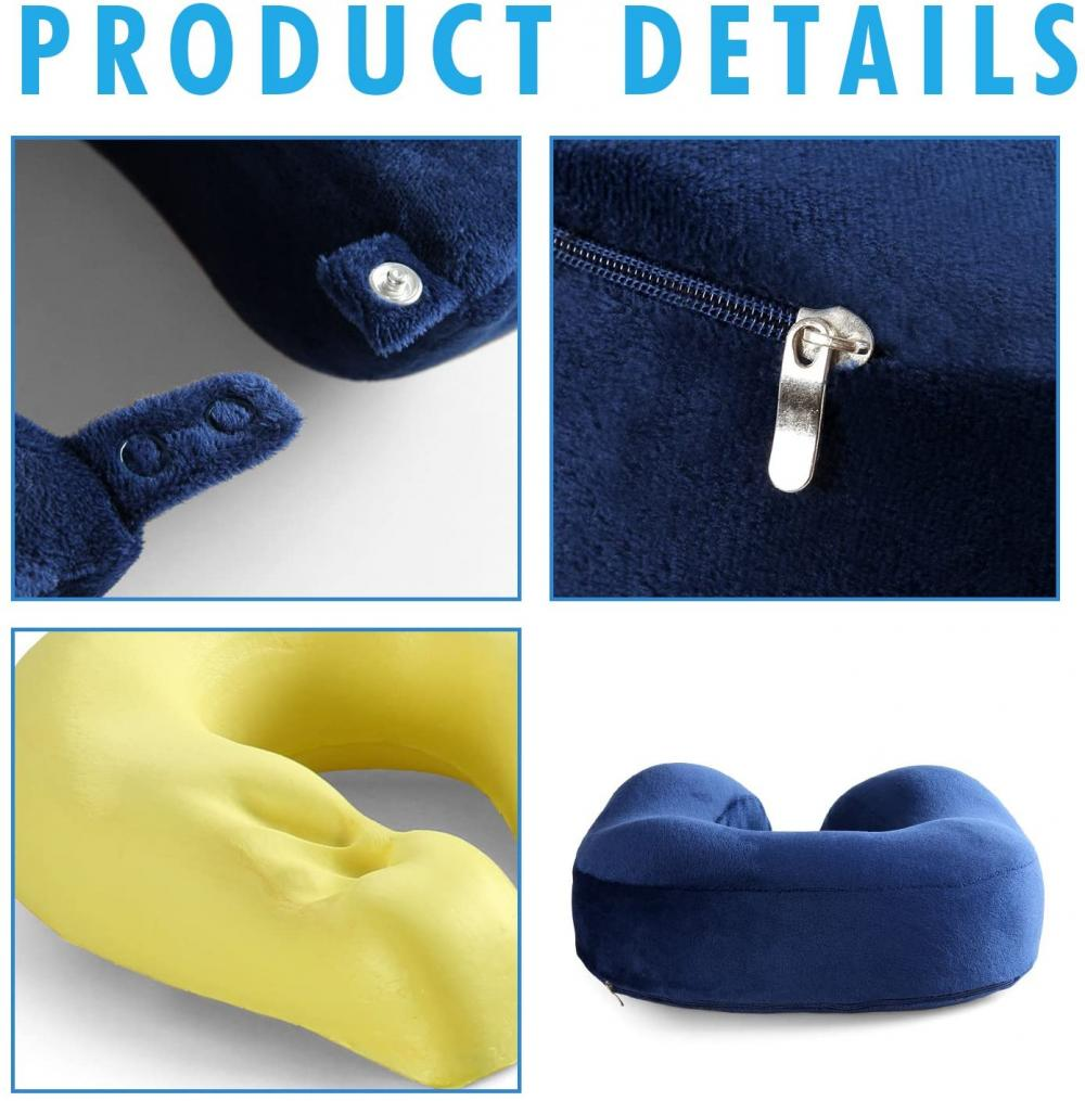 Small Memory Foam Pillow For Travel
