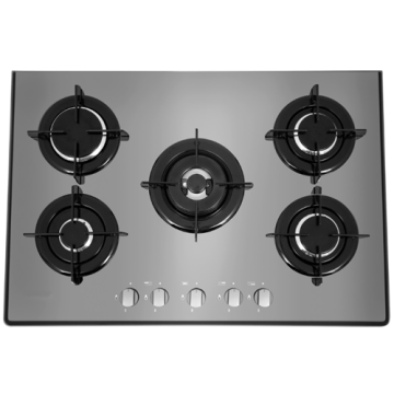 Hotpoint Gas Hobtop 75cm Acero inoxidable