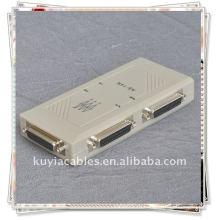 4 порта 25 контактов DB-25 Параллельный переключатель принтера