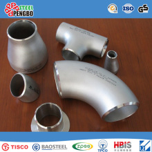 Codo acéntrico de accesorios de tubería de acero inoxidable