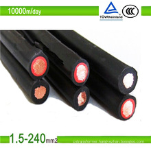TUV Certification Tinned Copper Wire Solar PV Cable
