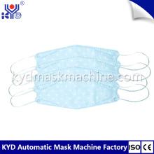 Korea Disposable Fishing Boat Type Mask Making Machine