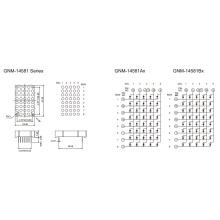 1,4 polegadas, 3,0 mm DOT (GNM-14581Ax-Bx)
