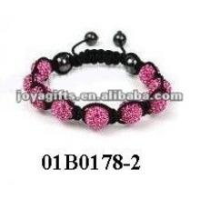 Fashion shamballa watch bracelet