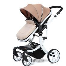 Carrinho de bebê clássico de 4 rodas 3 em 1 dobrável fácil para venda com EN1888