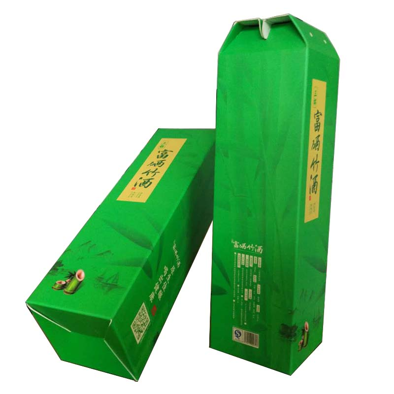 Bamboo Wine Gift Box Packaging